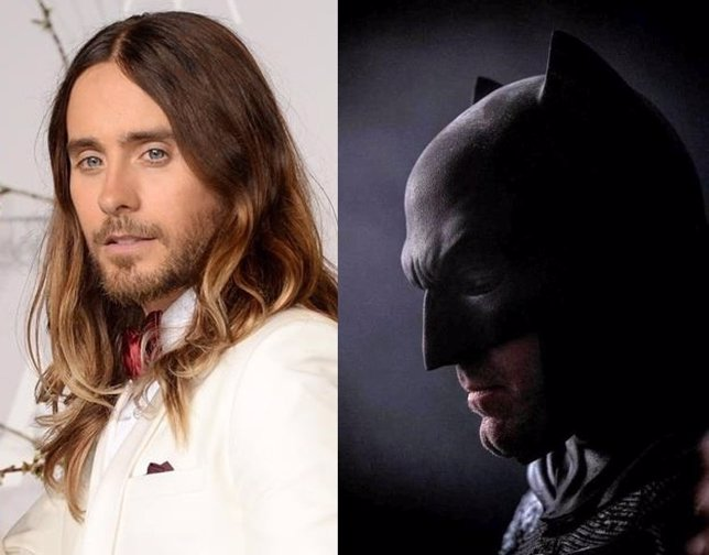 Batman y Joker (Ben Affleck y Jared Leto)