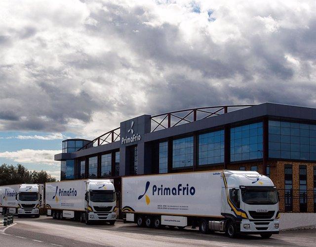 Camiones de Iveco para Primafrío