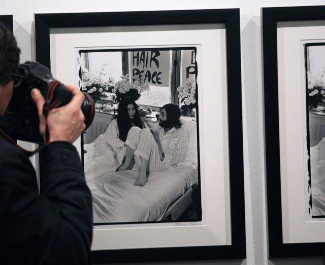 Exposición John Lennon en la termica