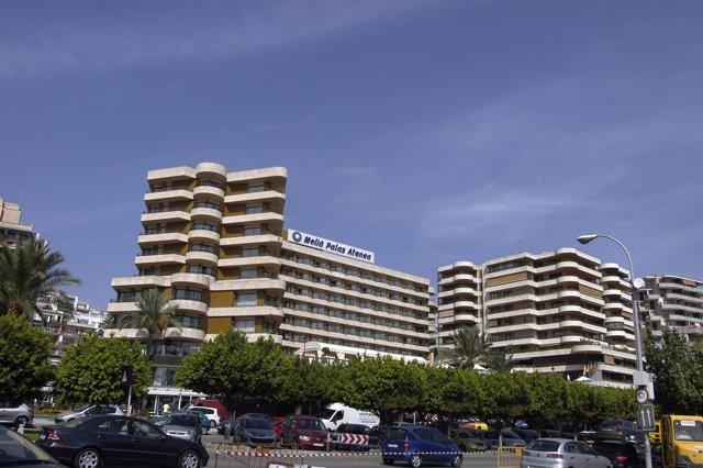 Hotel en el Paseo Maritimo de Palma de Mallorca