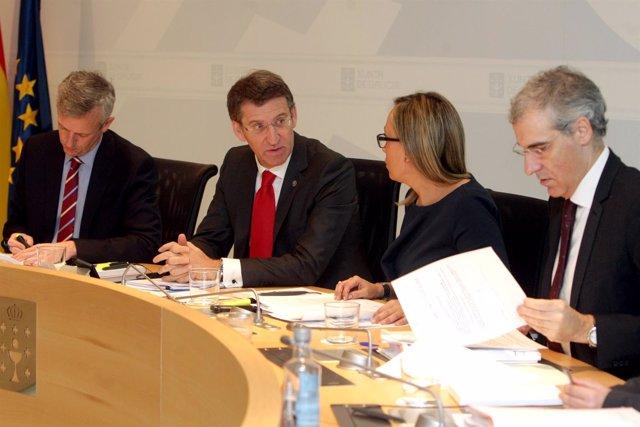 O presidente da Xunta, Alberto Núñez Feijóo, presidirá a reunión do Consello da