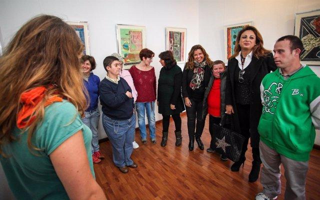 Cristina Valido visita Giro-Arte