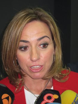 Carme Chacón, secretaria de Política Internacional del PSOE