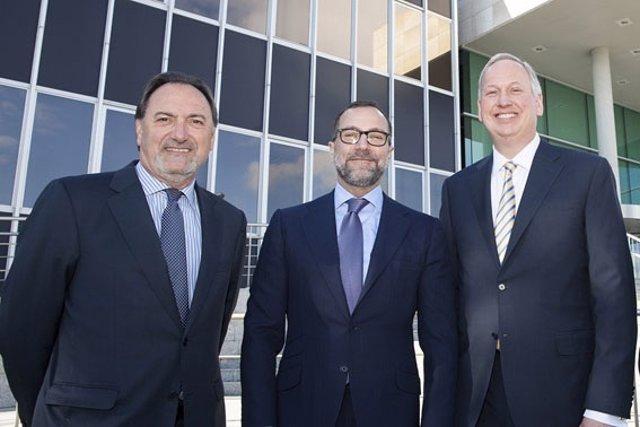 Visita embajador EEUU a instalaciones de Lilly en Alcobendas