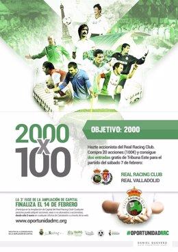 Cartel de la promoción '2.000x100'