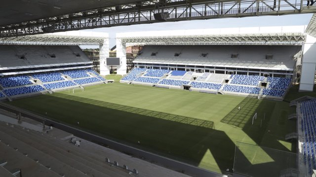 Arena Pantanal de Cuiabá, uno de los estadios del Mundial de Brasil