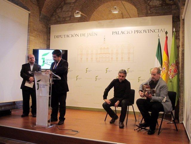Presentación de 'Ecos de mi tierra', del cantaor 'Niño Jorge'.