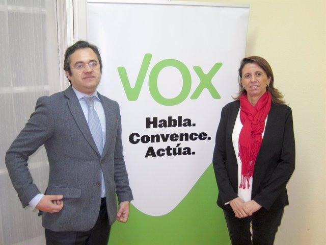 Alfredo Fernández y Ana Velasco Vidal-Abarca
