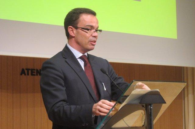 El director del programa del Govern para definir la Hacienda, Joan Iglesias.