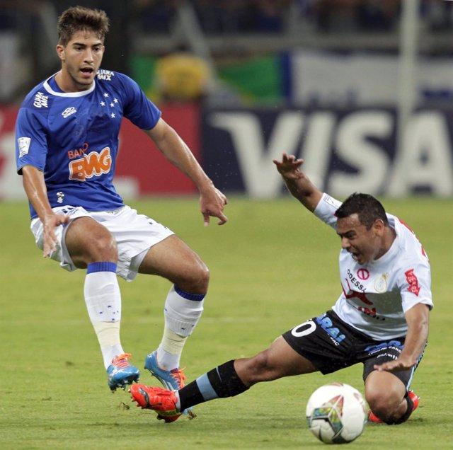 Lucas Silva, jugador del Cruzeiro que podría fichar por el Real Madrid