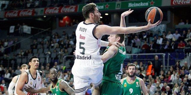 El Real Madrid supera al Panathinaikos en Euroliga