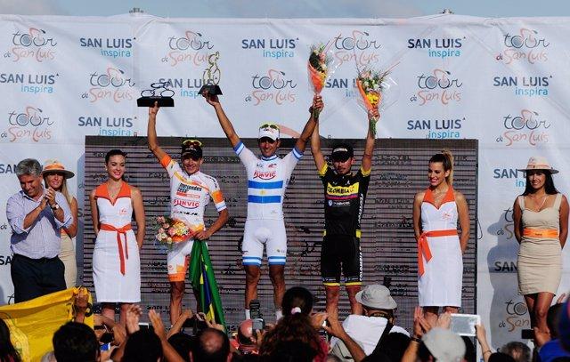 El argentino Dani Díaz vuelve a ganar en el Tour de San Luis