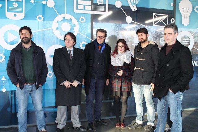 Asistentes a la presentación de la Global Game Jam