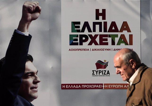 Cartel electoral de Syriza