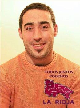 Raúl Ausejo, candidato a líderar Podemos en La Rioja