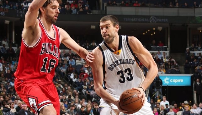 Pau Marc Gasol Memphis Grizzlies Chicago Bulls NBA