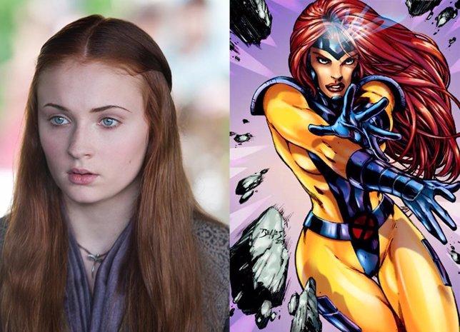 Sophie Turner -Sansa Stark en Juego de Tronos- será Jean Grey.