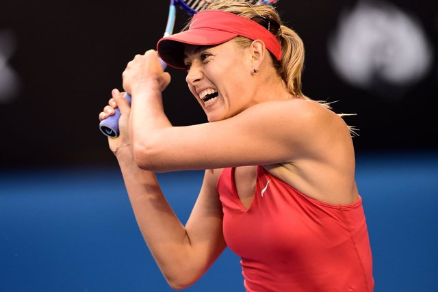 Maria Sharapova en el Abierto de Australia