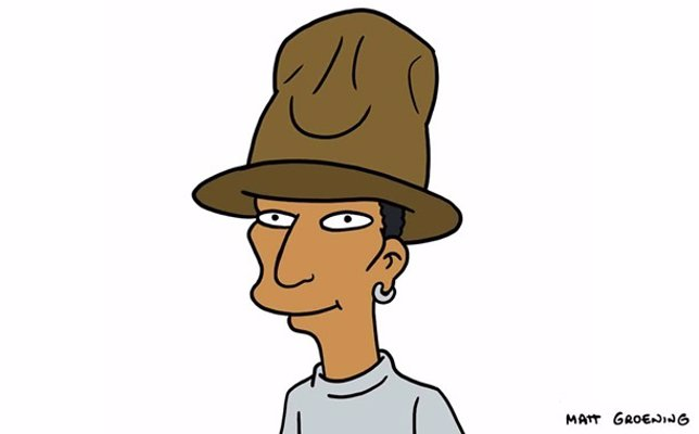Pharrell Williams en Los Simpson