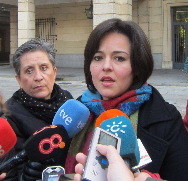 La vicesecretaria general del PP-A, Virginia Pérez