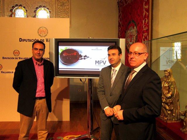 Centeno y Díez presentan la remodelación del Museo del Vino