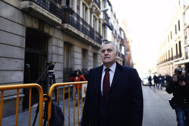 Luis Bárcenas en la Audiencia Nacional
