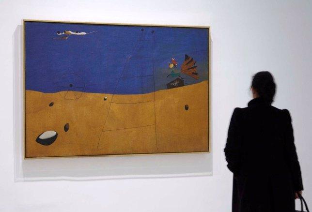 Paysage, de Joan Miró