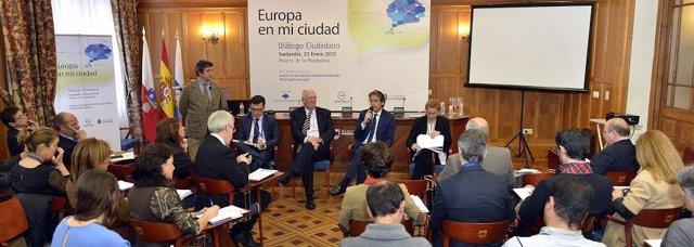 Intervención en el Diálogo Ciudadano 'Europa en mi ciudad'