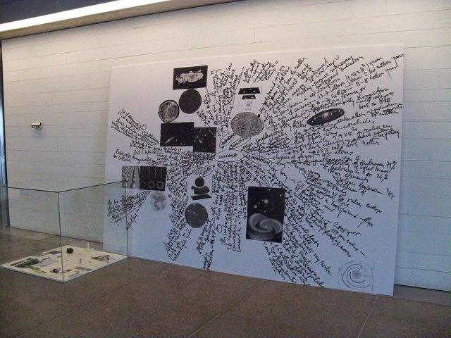 Una de las obras de la muestra 'Museo del Conocimiento'