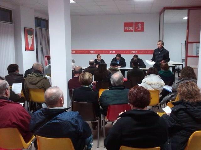 Asamblea local del PSIB en Palma