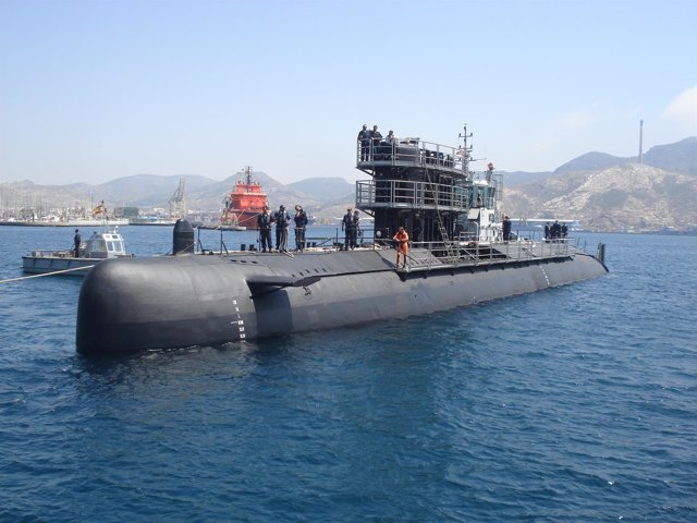 Submarino Mistral de la Armada