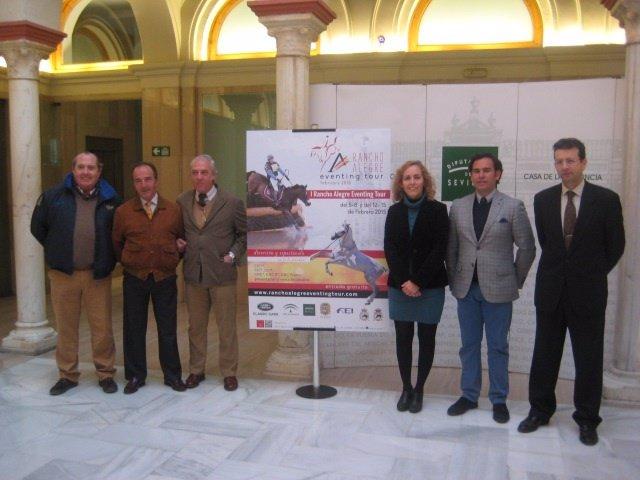 Utrera (Sevilla) acoge el I Rancho Alegre Eventing Tour en febrero