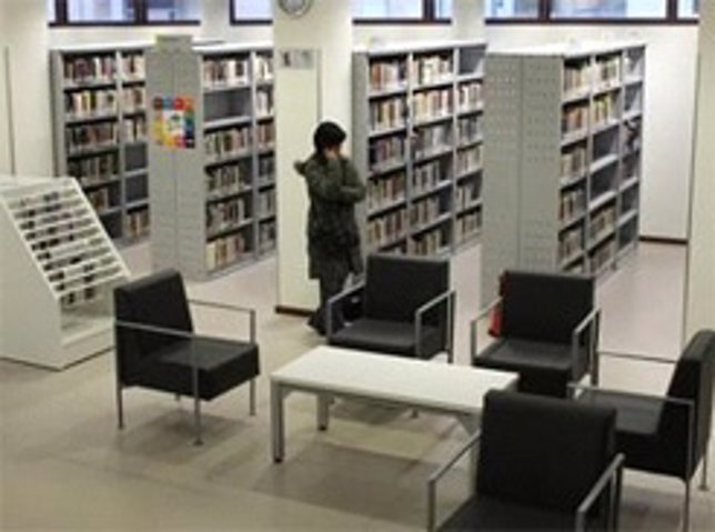 Biblioteca en Navarra.