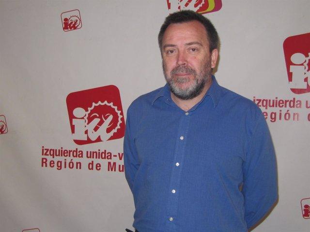 El concejal de IU-Verdes en el Ayuntamiento de Murcia, José Ignacio Tornel