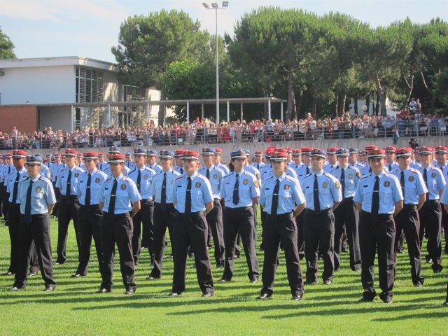 Graduación de Mossos en Mollet (Archivo)