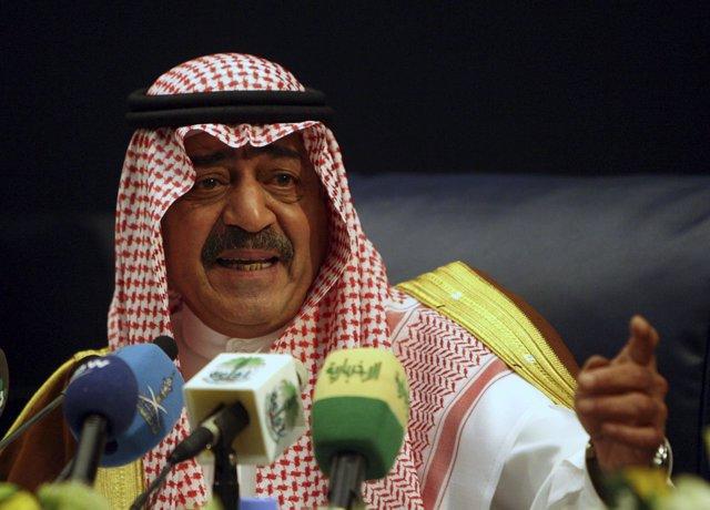 El príncipe heredero de Arabia Saudí, Muqrin bin Abdulaziz
