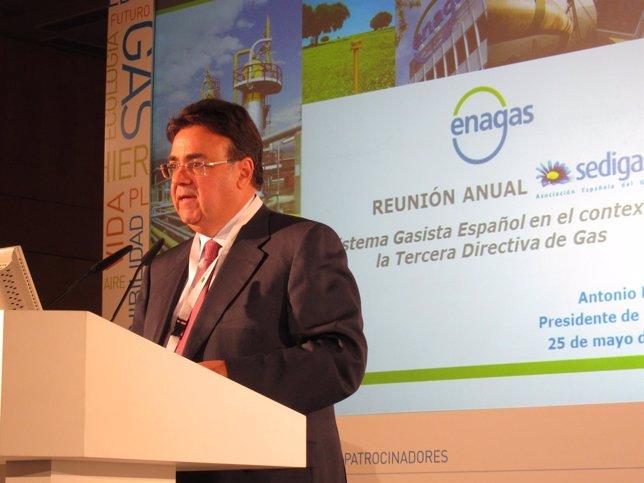 El Presidente De Enagás, Antonio Llardén