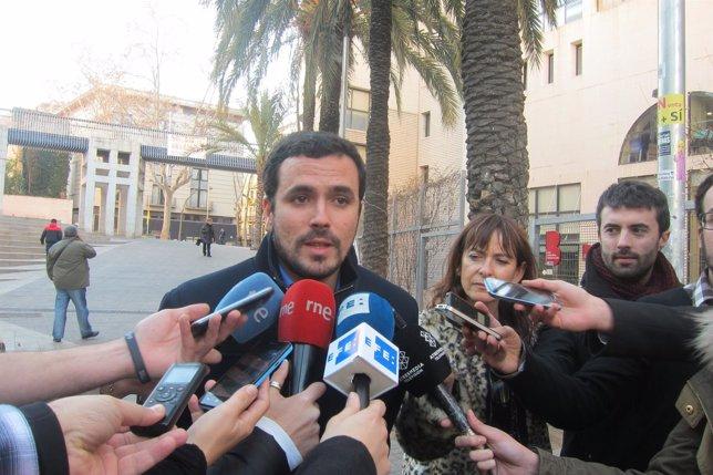 Alberto Garzón, IU