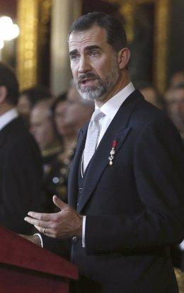 RECEPCIÓN AL CUERPO DIPLOMÁTICO ACREDITADO EN ESPAÑA