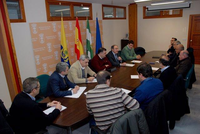 Un momento de la reunión en Palma