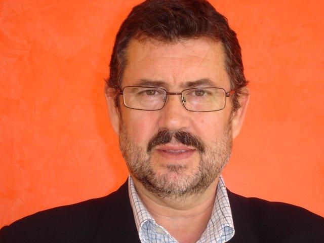 El candidato del IU a la Alcaldía de Almería, Rafael Esteban