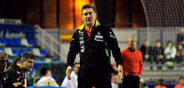 Manolo Cadenas selección española balonmano