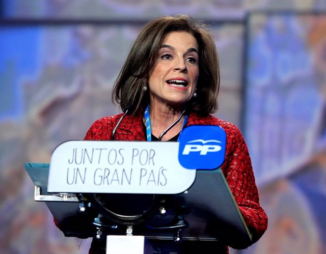 Ana Botella en la Convención Nacional del PP