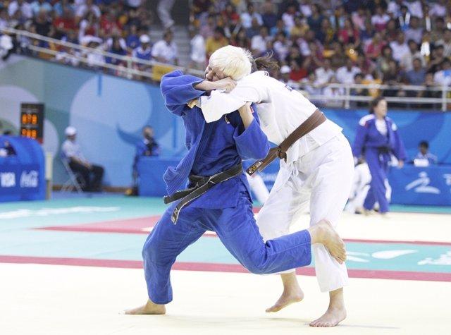 Judoka Carmen Herrera