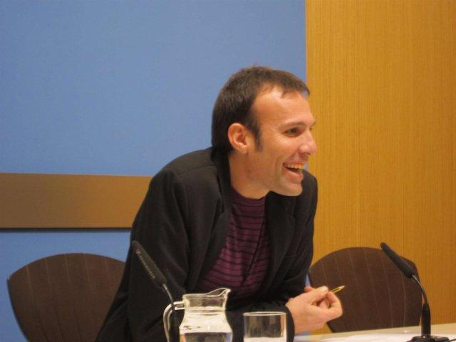 El concejal de IU Pablo Muñoz