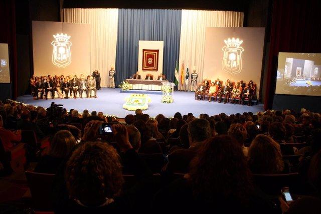 Entrega de Medallas de la Ciudad de Huelva