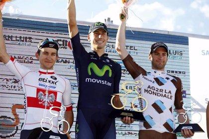 Malori (Movistar) se adjudica la contrarreloj del Tour de San Luis