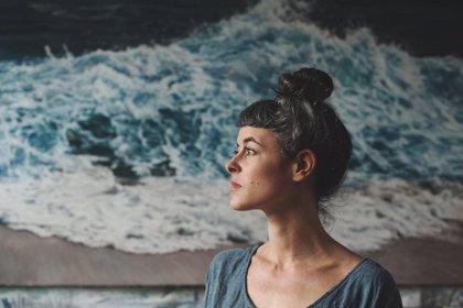 Galería: La artista Zaria Forman pinta el avance del Cambio Climático