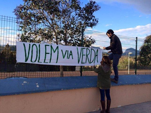 Los vecinos de Alaró y Consell piden una vía verde entre los dos pueblos