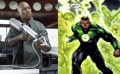 Tyrese Gibson... ¿En Green Lantern?